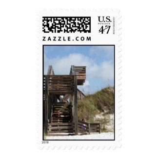 Cabo San Blas la Florida Dunewalk del lado de la Timbre Postal