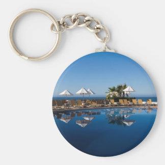 Cabo San Lucas 24 Basic Round Button Keychain