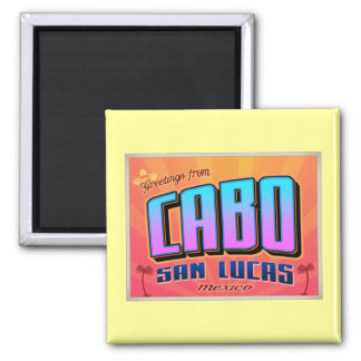 CABO SAN LUCAS 2 INCH SQUARE MAGNET