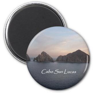 Cabo San Lucas at Sunset Fridge Magnet