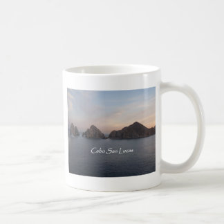 Cabo San Lucas at Sunset Classic White Coffee Mug
