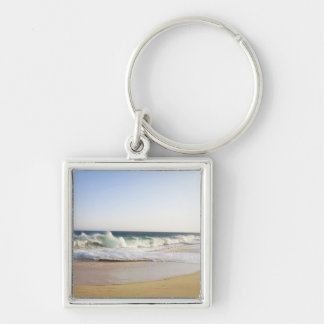 Cabo San Lucas, Baja California Sur, Mexico - Silver-Colored Square Keychain