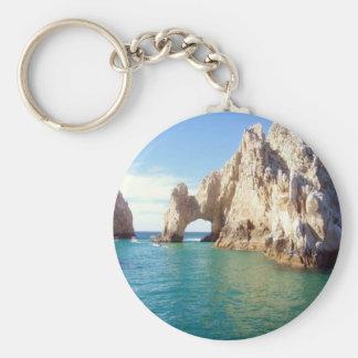 Cabo San Lucas Basic Round Button Keychain