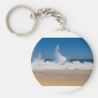 Cabo San Lucas beach 22 Basic Round Button Keychain