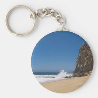 Cabo San Lucas beach 23 Basic Round Button Keychain