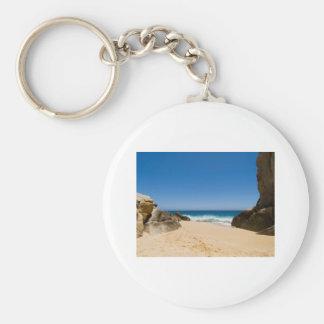 Cabo San Lucas beach 29 Basic Round Button Keychain