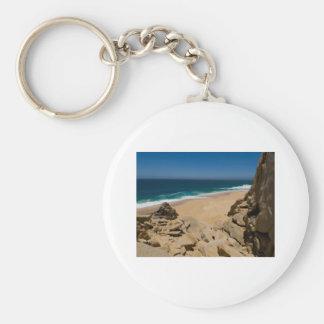 Cabo San Lucas beach 31 Basic Round Button Keychain