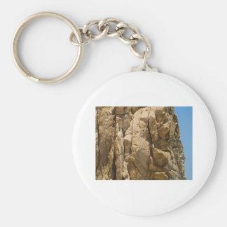 Cabo San Lucas beach 35 Basic Round Button Keychain