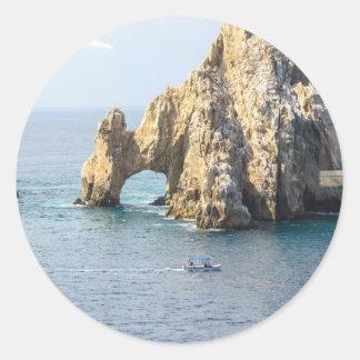 Cabo San Lucas Classic Round Sticker