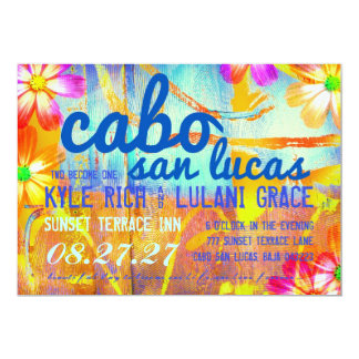 CABO SAN LUCAS Destination Invitation