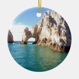 Cabo San Lucas Mexico Double-Sided Ceramic Round Christmas Ornament