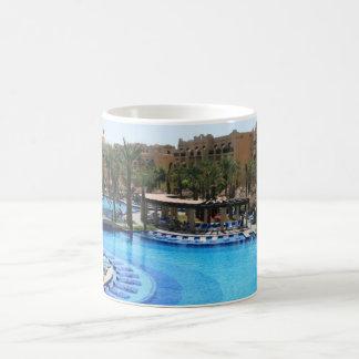 Cabo San Lucas Mexico Pool View Coffee Mugs