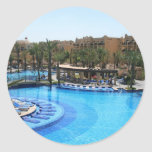 Cabo San Lucas Mexico Pool View Stickers