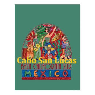 CABO SAN LUCAS Mexico Postcard