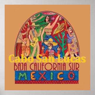 CABO SAN LUCAS Mexico POSTER Print