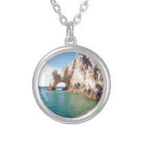 Cabo San Lucas Mexico Silver Plated Necklace
