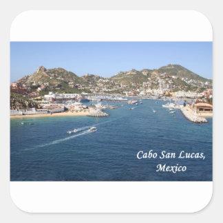 Cabo San Lucas, Mexico Square Sticker