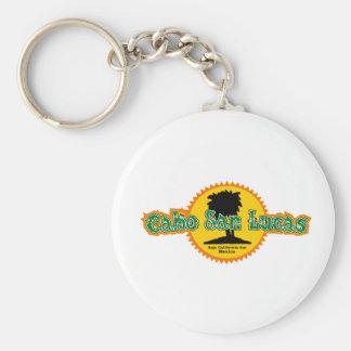 Cabo San Lucas Sun Basic Round Button Keychain