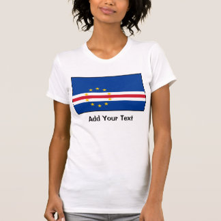 Cabo Verde - bandera caboverdiana Camisetas
