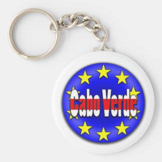 Cabo Verde! Basic Round Button Keychain