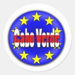 ¡Cabo Verde! Etiquetas Redondas