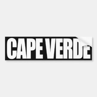 Cabo Verde Pegatina Para Auto