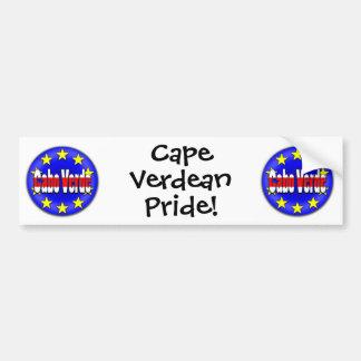 ¡Cabo Verde! Pegatina Para Auto