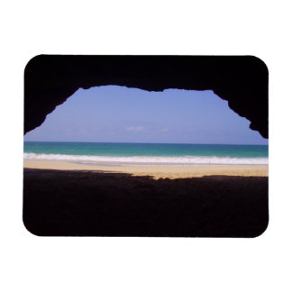 Cabo Verde - Praia Varandinha Rectangle Magnet