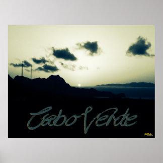 Cabo Verde Sunset Poster