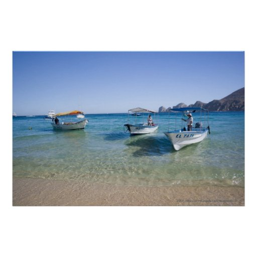 Cabo Water Taxis Poster