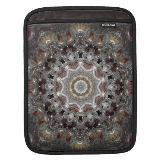 Cabochon Metal Kaleidoscope iPad Sleeve