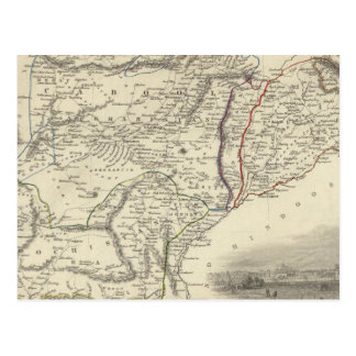 Cabool, el Punjab y Beloochistan Postales