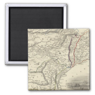 Cabool, The Punjab and Beloochistan Fridge Magnets