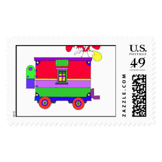 caboose 300 dpi postage stamps