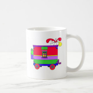 caboose  classic white coffee mug