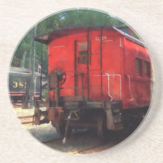 Caboose Beverage Coaster