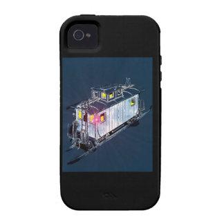 Caboose de antaño Case-Mate iPhone 4 carcasas