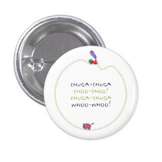 ¡Caboose flojo Chuga-Chuga Choo Choo! Botón Pin Redondo De 1 Pulgada