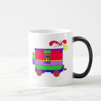 caboose  11 oz magic heat Color-Changing coffee mug