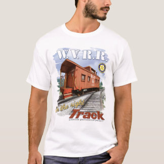 Caboose T-Shirt White Water Valley Railroad