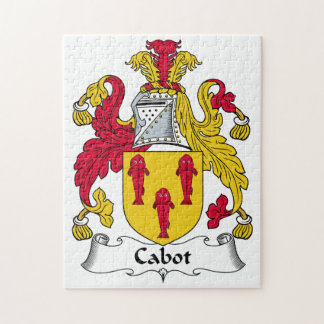 Cabot Family Crest Jigsaw Puzzle