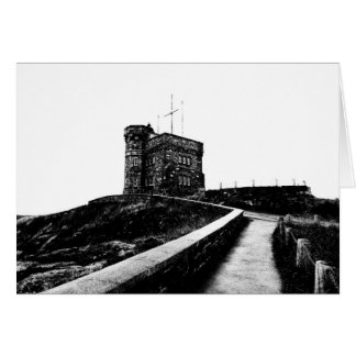 Cabot Tower Card