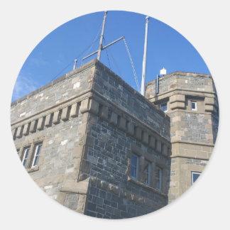 Cabot Tower Classic Round Sticker