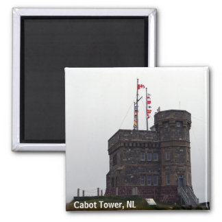 Cabot Tower, NL Magnet
