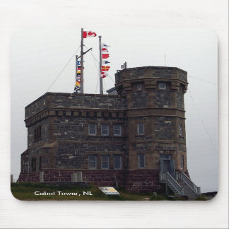 Cabot Tower, NL Mousepad
