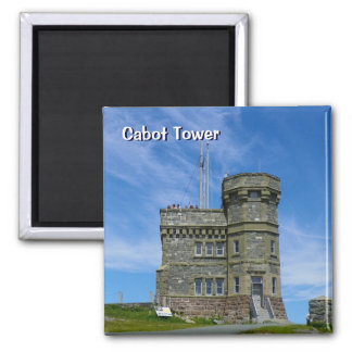 Cabot Tower on Signal Hill Refrigerator Magnet