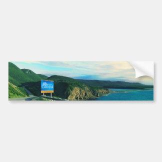 Cabot Trail, Cape Breton Car Bumper Sticker