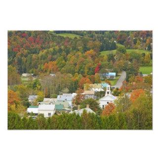 Cabot, Vermont en caída. Reino de nordeste Fotografias