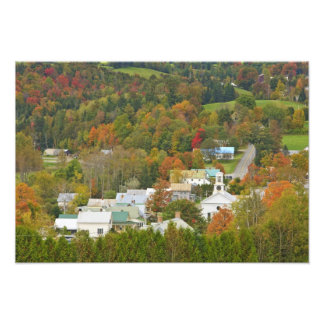 Cabot, Vermont in fall. Northeast Kingdom. Photo Print