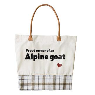 Cabra alpina bolsa tote zazzle HEART